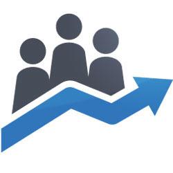 Zarządzanie i konsulting - ikona